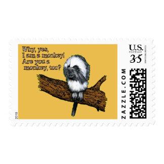 Little Monkey Stamp