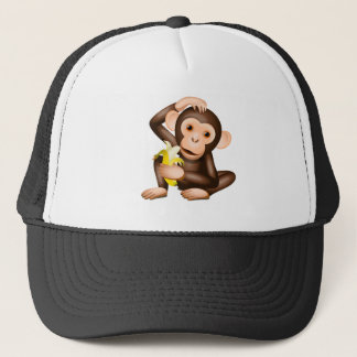 Little monkey trucker hat
