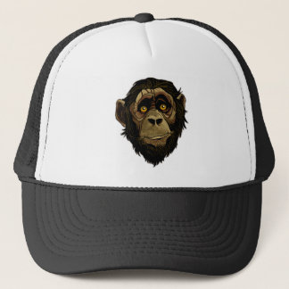 LITTLE MONKEY. TRUCKER HAT