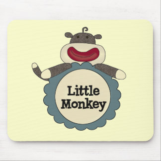Little Monkey Tshirts and Gifts Mouse Pad