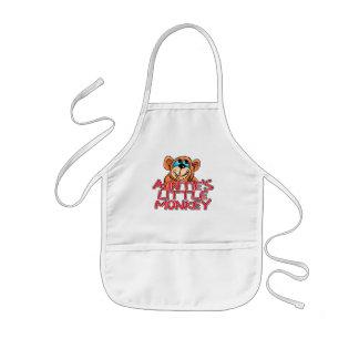 Little Monkey Tshirts y regalos de tía Delantales