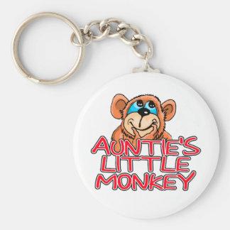 Little Monkey Tshirts y regalos de tía Llavero Personalizado