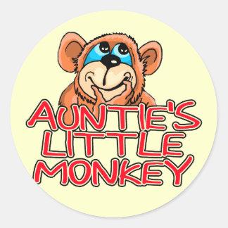Little Monkey Tshirts y regalos de tía Etiquetas