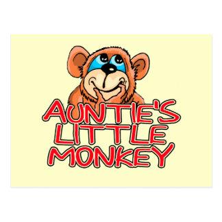 Little Monkey Tshirts y regalos de tía Postales