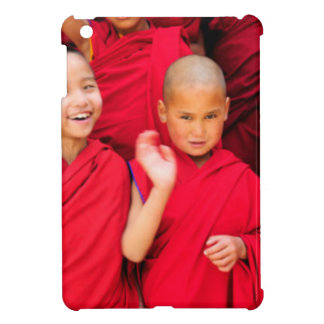 Little Monks in Red Robes Case For The iPad Mini