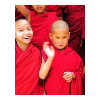Little Monks in Red Robes Letterhead