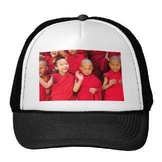 Little Monks in Red Robes Trucker Hat