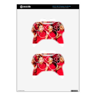 Little Monks in Red Robes Xbox 360 Controller Skins