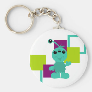 Little Monster Alien Creatures Keychains