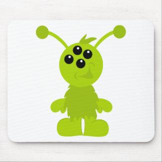 Little Monster Alien Creatures Mouse Pads