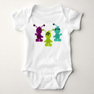 Little Monster Alien Creatures T Shirts
