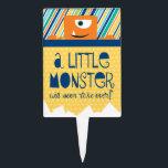 """Little Monster Baby Shower cake pick<br><div class=""""desc"""">Little Monsters shower cake picks.</div>"""