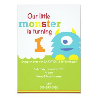 Little Monster Invitations & Announcements | Zazzle