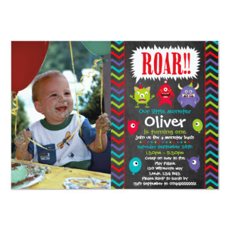 little monster birthday party invitations - Monster Birthday Party Invitations