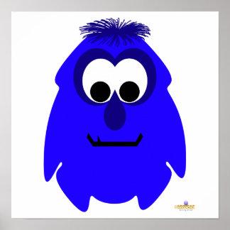 Little Monster Bobby Bright Print