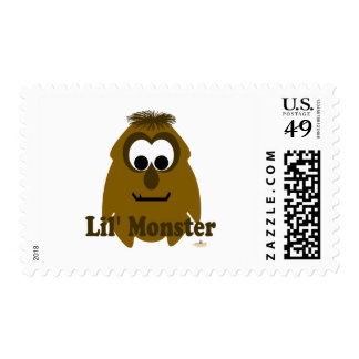 Little Monster Choco Holic Lil' Monster Postage Stamps
