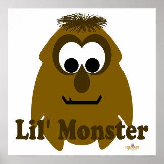 Little Monster Choco Holic Lil' Monster Print
