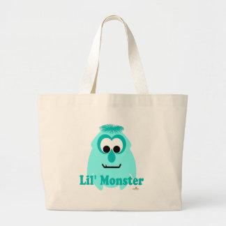 Little Monster Crystal Lake Lil' Monster Jumbo Tote Bag
