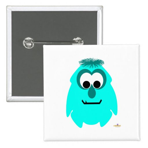 Little Monster Envy 2 Inch Square Button