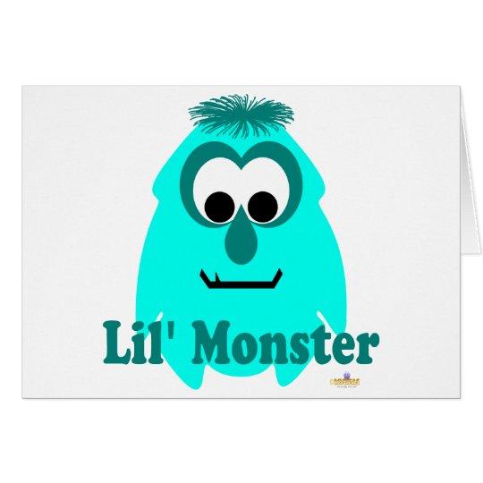 Little Monster Envy Lil' Monster Card