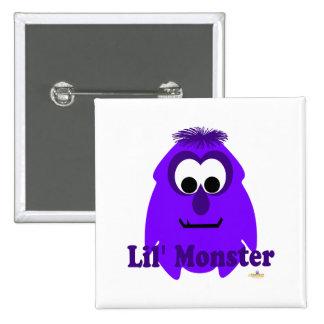 Little Monster Georgy Lil' Monster Button