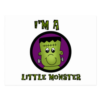 Little Monster Halloween Tshirts and gifts Post Cards