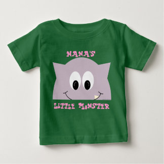 Little Monster In Lilac Baby T-Shirt
