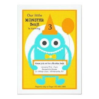 Little Monster Invitation