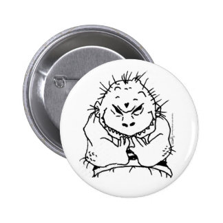 Little Monster Kid Button