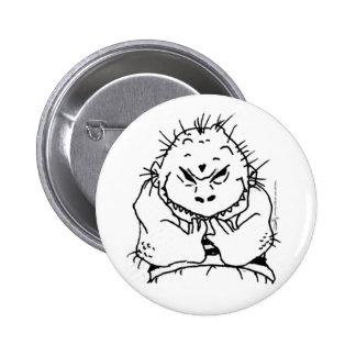 Little Monster Kid Button