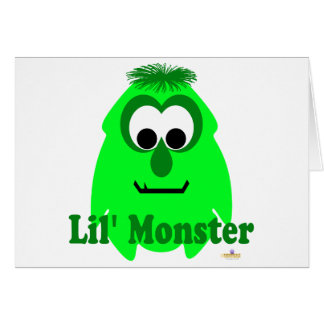 Little Monster Limey Lena Lil' Monster Card