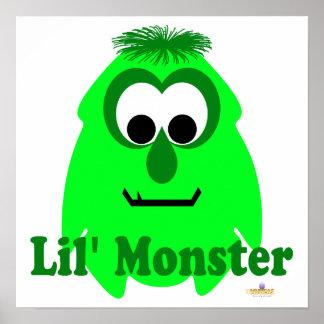 Little Monster Limey Lena Lil' Monster Posters
