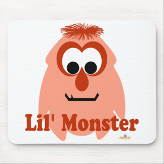 Little Monster Mellow Jellow Lil' Monster Mouse Pad