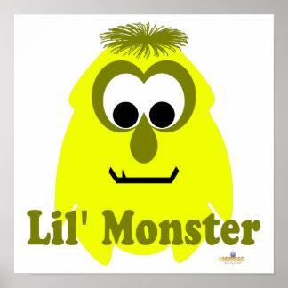 Little Monster Mollie Mustard Lil' Monster Poster