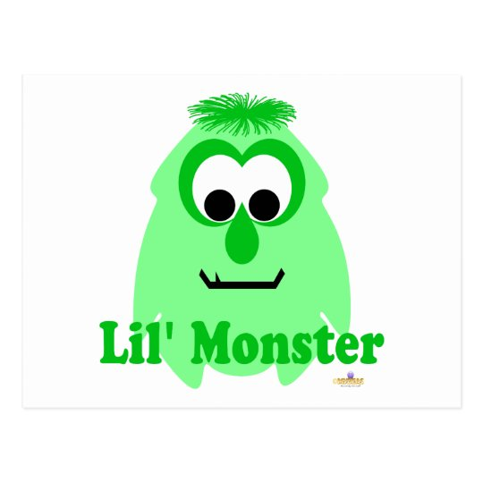 Little Monster Pepper Mint Lil' Monster Postcard