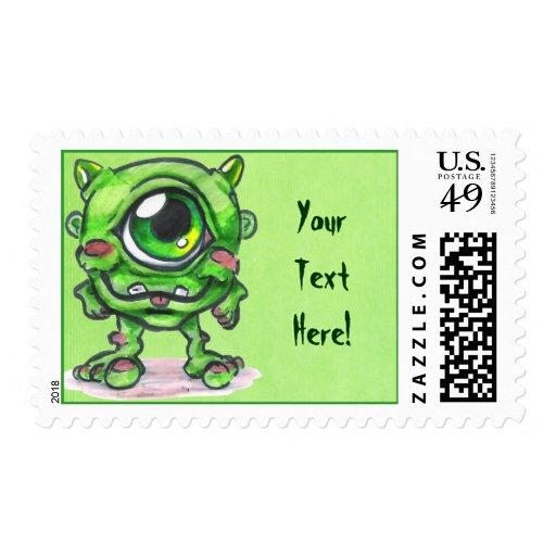 Little Monster Postage