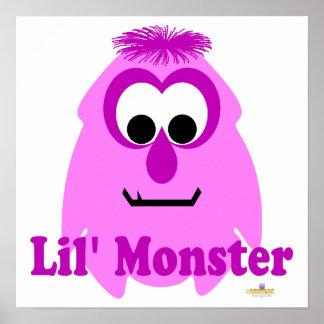 Little Monster Rosey Lil' Monster Poster