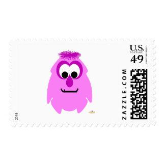 Little Monster Rosey Postage