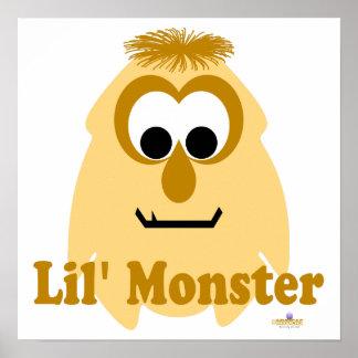 Little Monster Sally Souffle Lil' Monster Print
