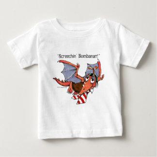 Little Monster Screechin' Bombanat Baby T-Shirt