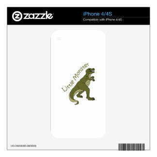 Little Monster Skins For The iPhone 4S