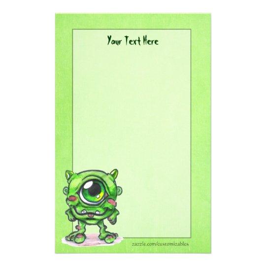 Little Monster Stationery