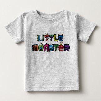 Little Monster -Text Doodles (Bright) Baby T-Shirt