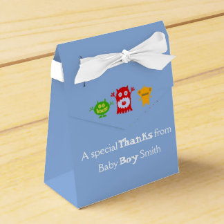 Little Monsters Customizable Baby Shower Favors Favor Box