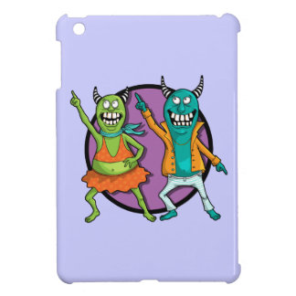 Little Monsters Disco Dancing Party! Case For The iPad Mini