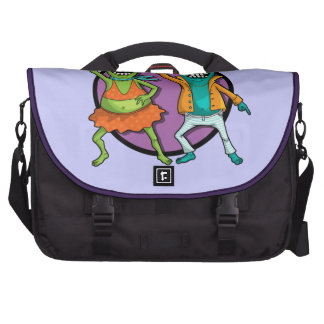 Little Monsters Disco Dancing Party! Bag For Laptop