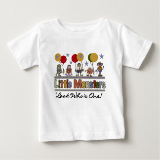 Little  Monsters First Birthday Baby T-Shirt