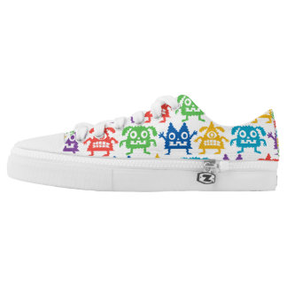 Little Monsters low tops