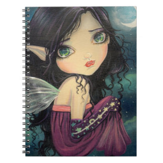 Little Moon Gothic Big-Eye Fairy Art Spiral Note Books