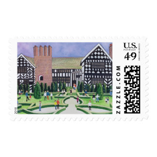 Little Moreton Hall 1995 Postage Stamp